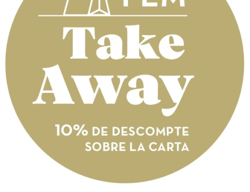 Obrim els restaurants + take away